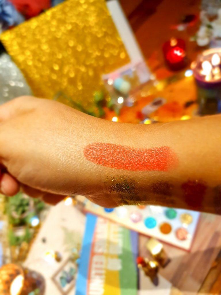 swatch rouge à lèvres Yves Saint Laurent
