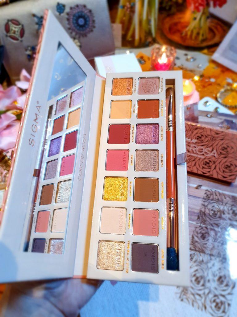 palette yeux Cor-de-Rosa Sigma Beauty