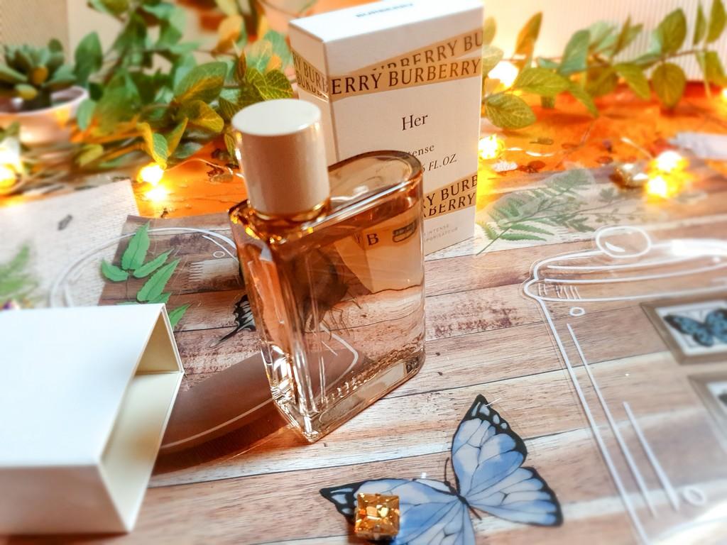 test et avis eau de parfum femme Burberry Her Intense