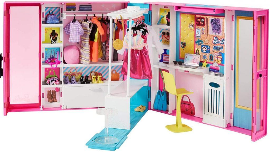 liste de jouets pour le Père Noël : dressing Barbie Fashionistas