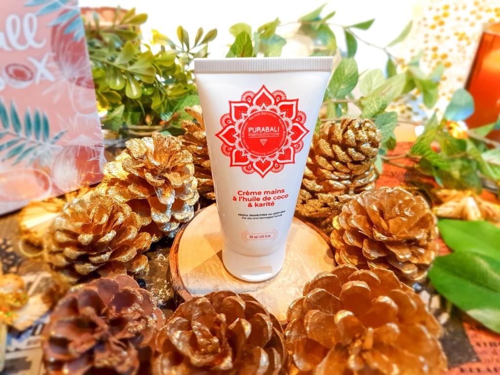 crème mains coco et karité Pura Bali