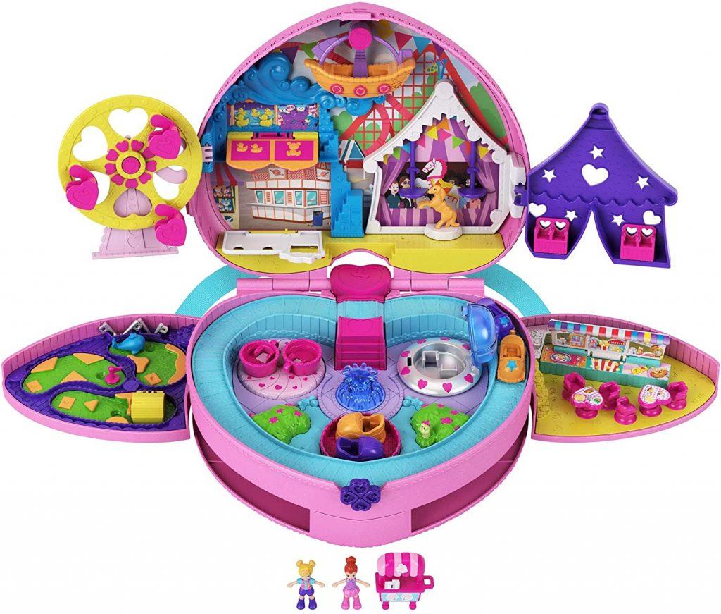liste de jouets pour le Père Noël : coffret fête foraine Polly Pocket