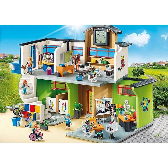 Ecole aménagée Playmobil