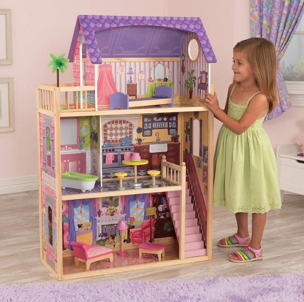 liste de jouets pour le Père Noël : maison de poupée en bois