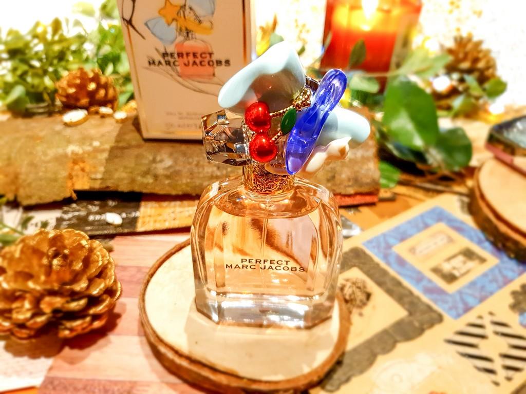 présentation, test et avis parfum femme Perfect Marc Jacobs