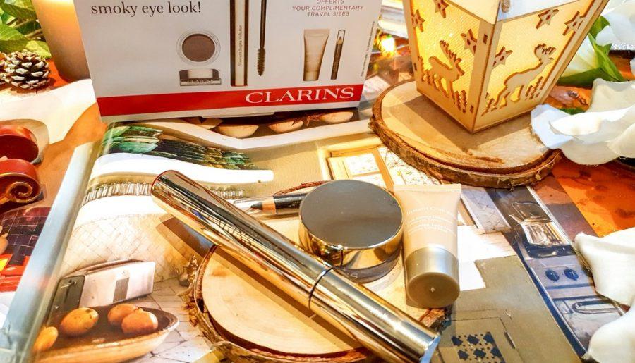 test et avis coffret Clarins maquillage