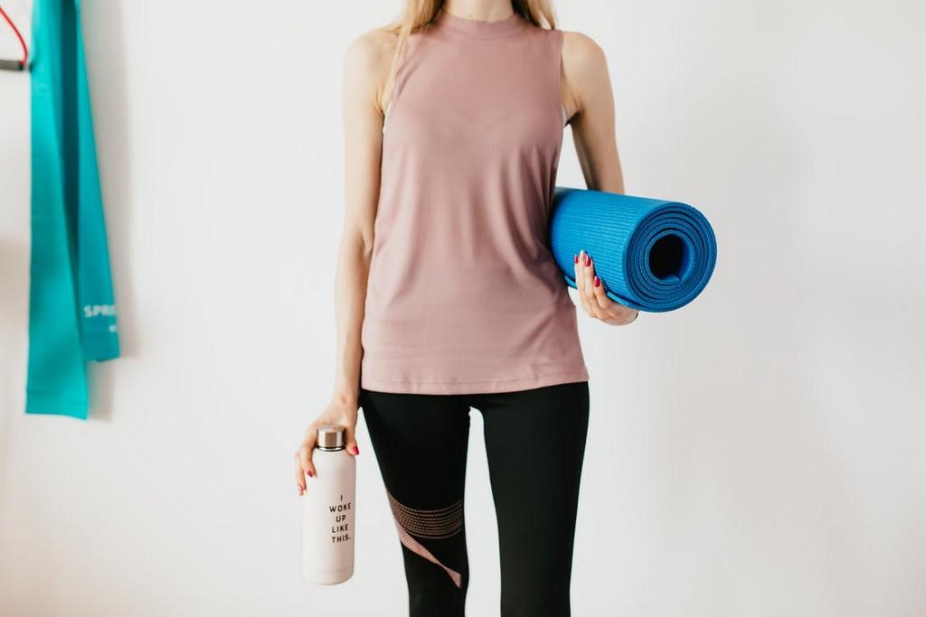 tenue de sport femme