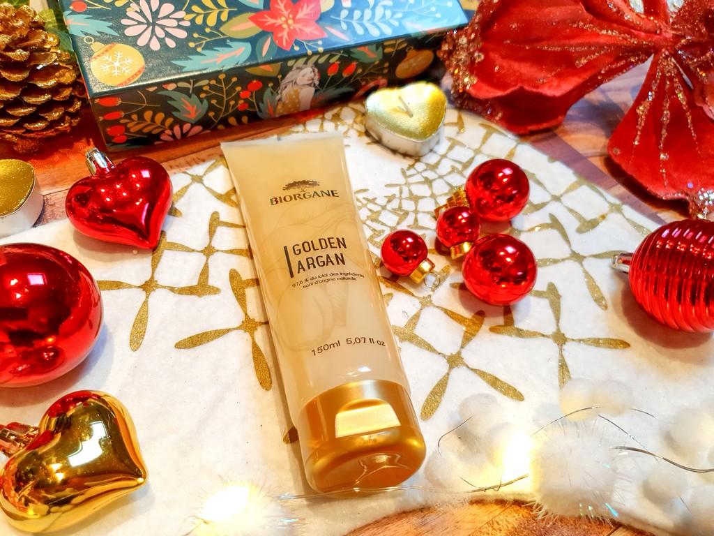 shampoing pailleté Golden Argan Biorgane