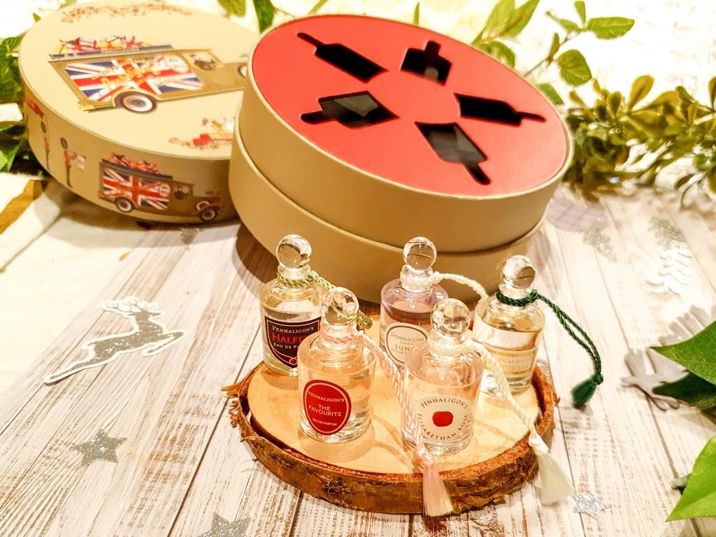 coffret de Noël parfums femme Penhaligon's