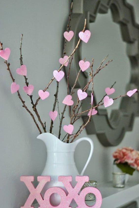 idées décoration Saint Valentin