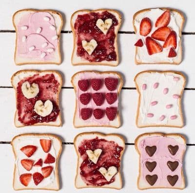 idées de repas pour Saint Valentin
