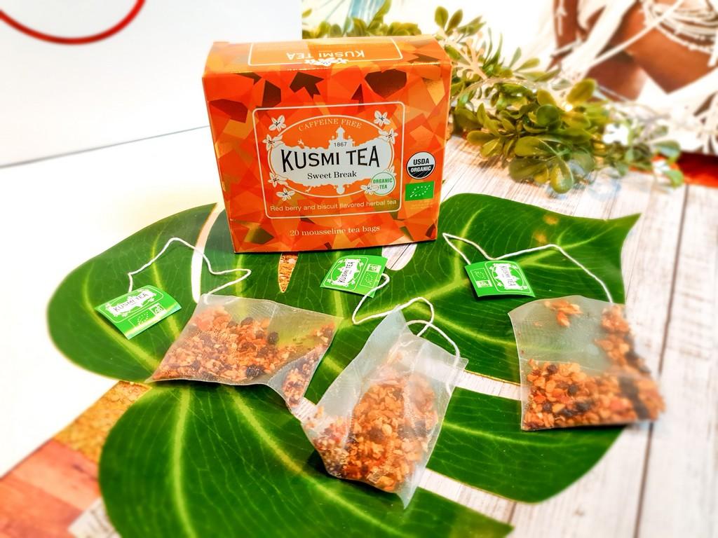 infusion Kusmi Tea Sweet Break