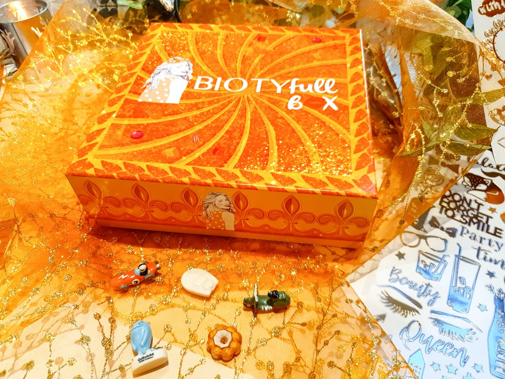 la routine nourrissante de la box beauté Biotyfull Box janvier 2021