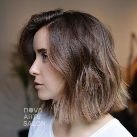 coiffure tendance 2021, le mousy hair