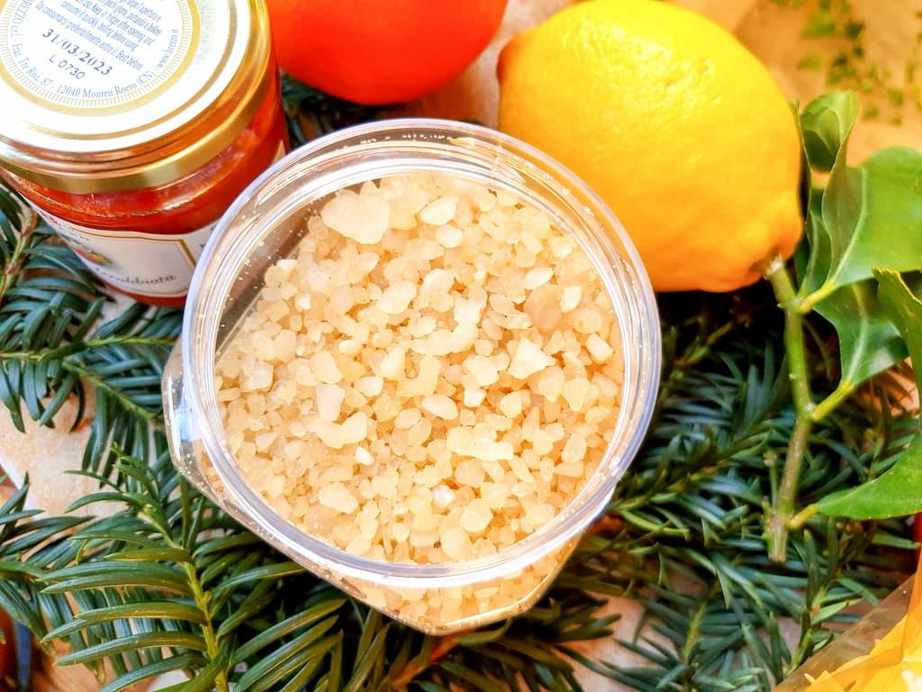sélection produits d'épicerie fine chez Saveurs de Tosca : sel aromatisé au citron