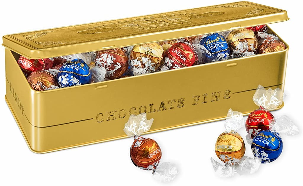 coffret chocolats Lindt