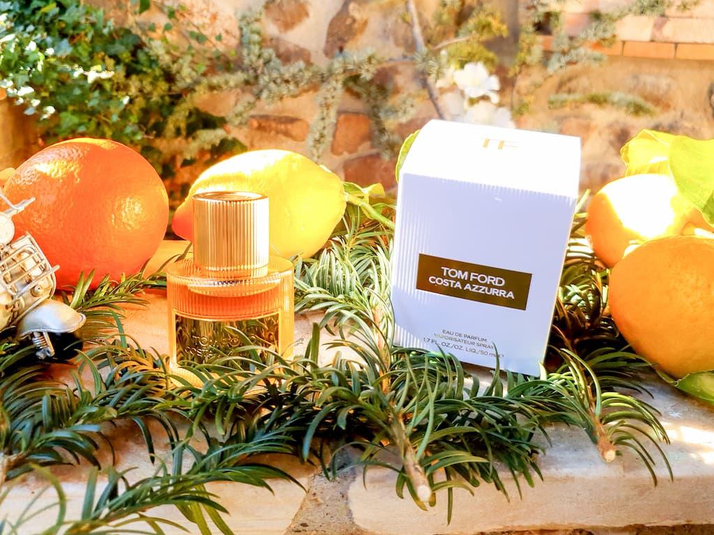 test et avis eau de parfum été Costa Azzurra Tom Ford