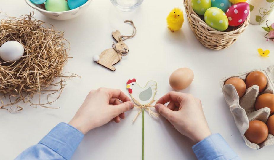 idées pour réaliser une chasse aux oeufs de Pâques originale