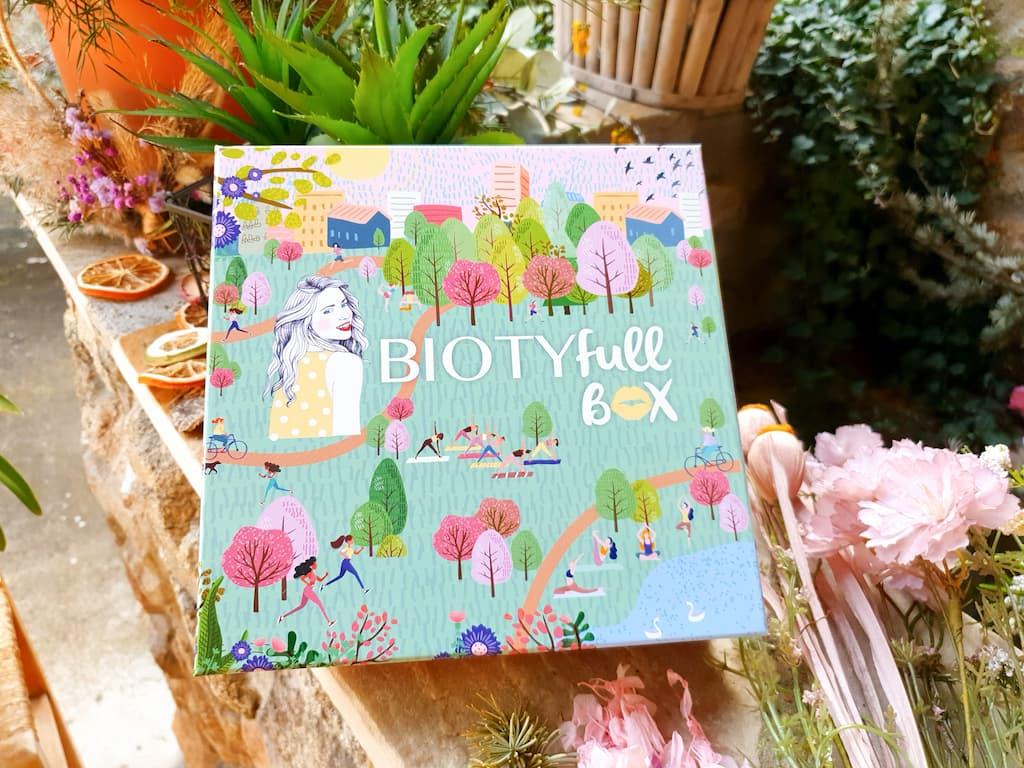 présentation contenu Biotyfull Box mars 2021