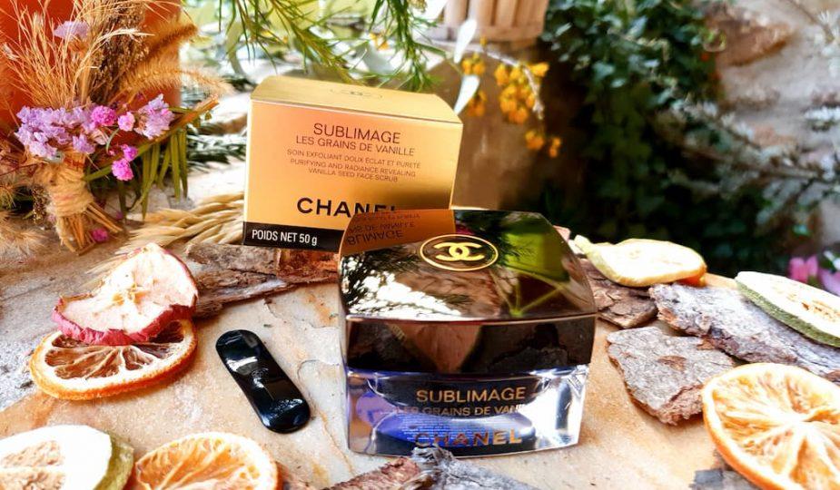 test et avis soin exfoliant Les Grains de Vanille Chanel