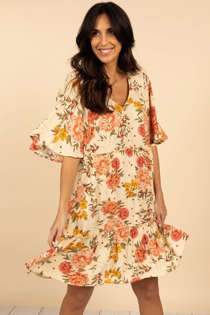 sélection de robes incontournables pour l'été : la robe imprimé floral