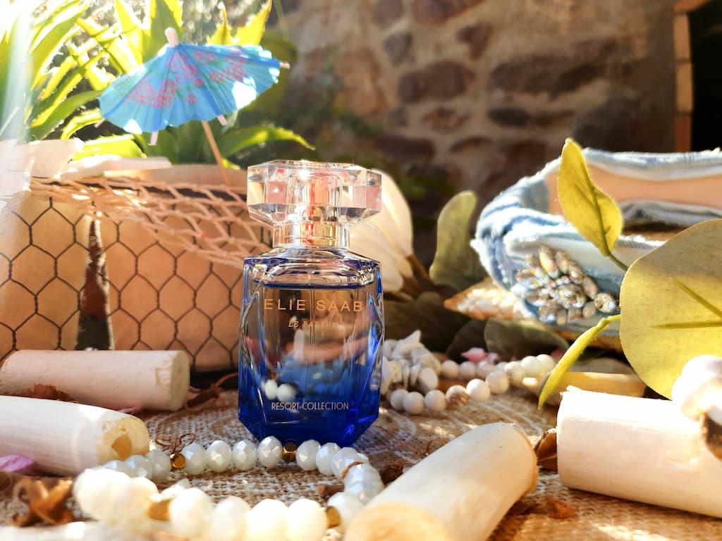 test et avis eau de toilette femme Blue Escapade Elie Saab Resort Collection