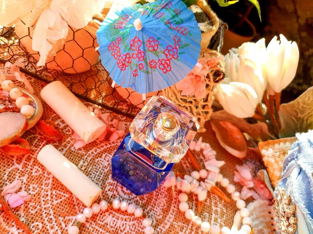 eau de toilette femme fleur de frangipanier