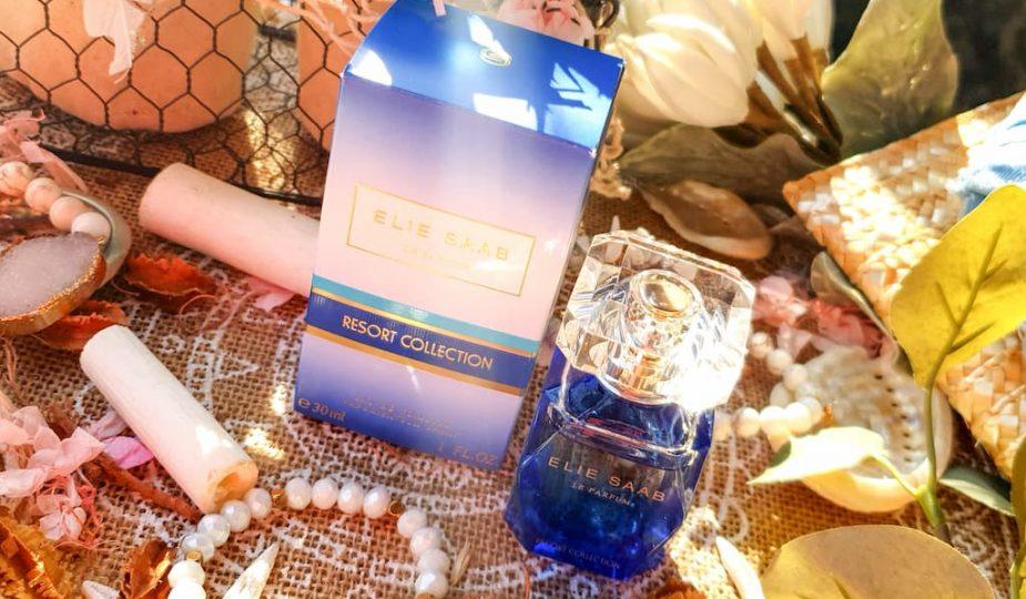 L'eau de toilette Blue Escapade Elie Saab Resort Collection