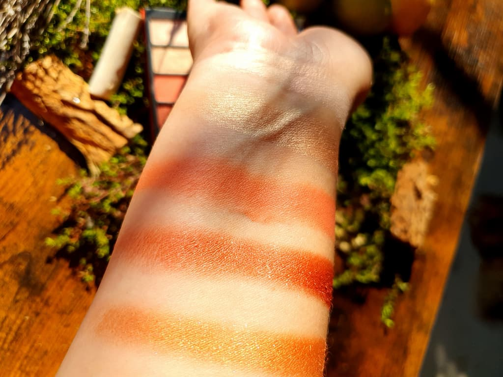 swatches palette Stroke Of Luck