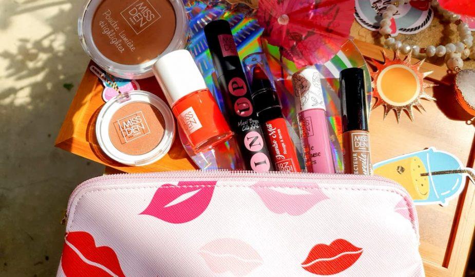 beauté accessible avec la marque de maquillage petits prix Miss Den