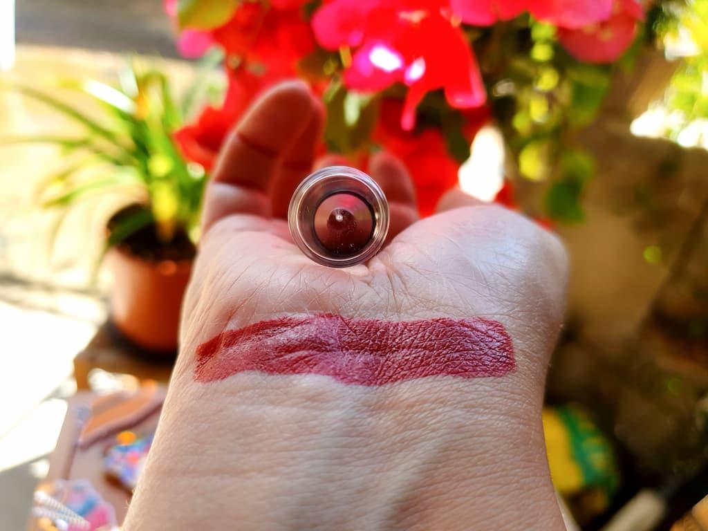swatch jumbo lèvres Miss Den