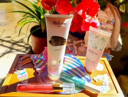 découverte de la marque de cosmétiques au chanvre Mélusine Paris