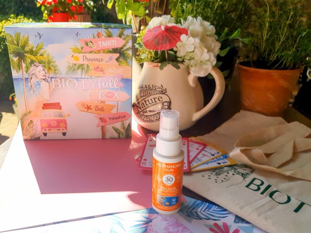 spray solaire visage waterproof