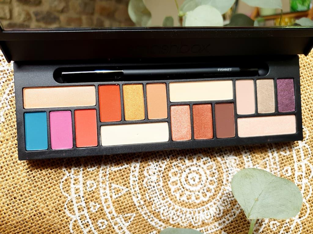 palette de maquillage Smashbox
