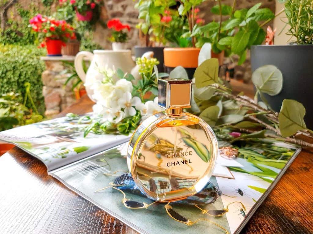 test et avis parfum floral pour femme Chance de Chanel