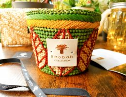 bougie de luxe Baobab