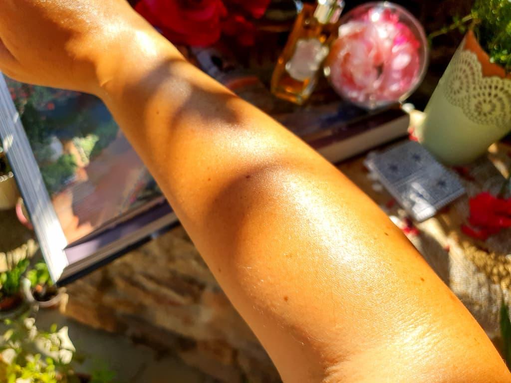 résultat Huile de Beauté Rose La Sultane de Saba