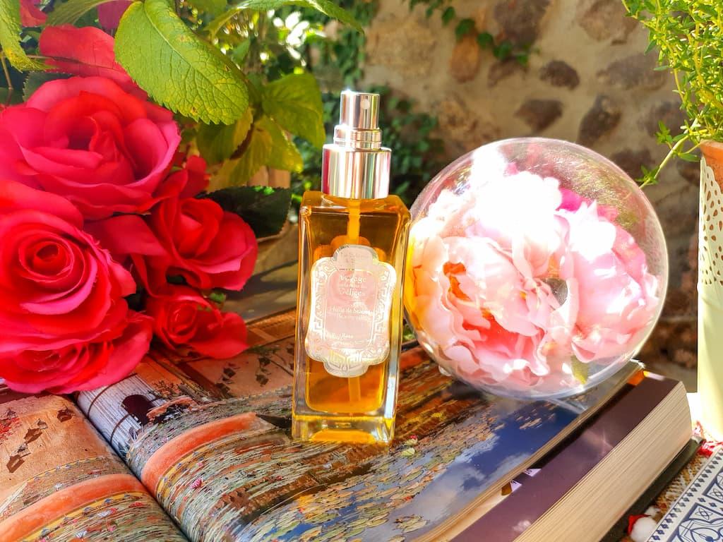 le pouvoir des fleurs avec l'Huile de Beauté La Sultane de Saba