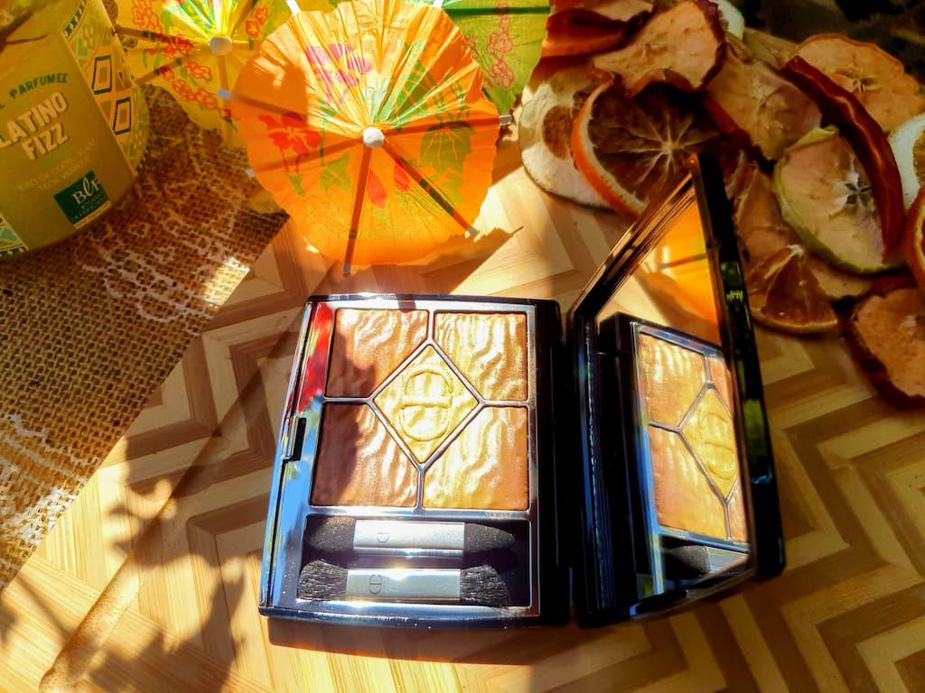 palette de maquillage parfaite pour l'été Summer Dune Dior