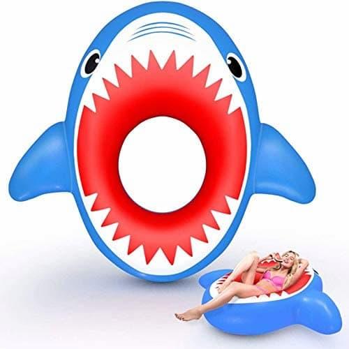 bouée en forme de requin