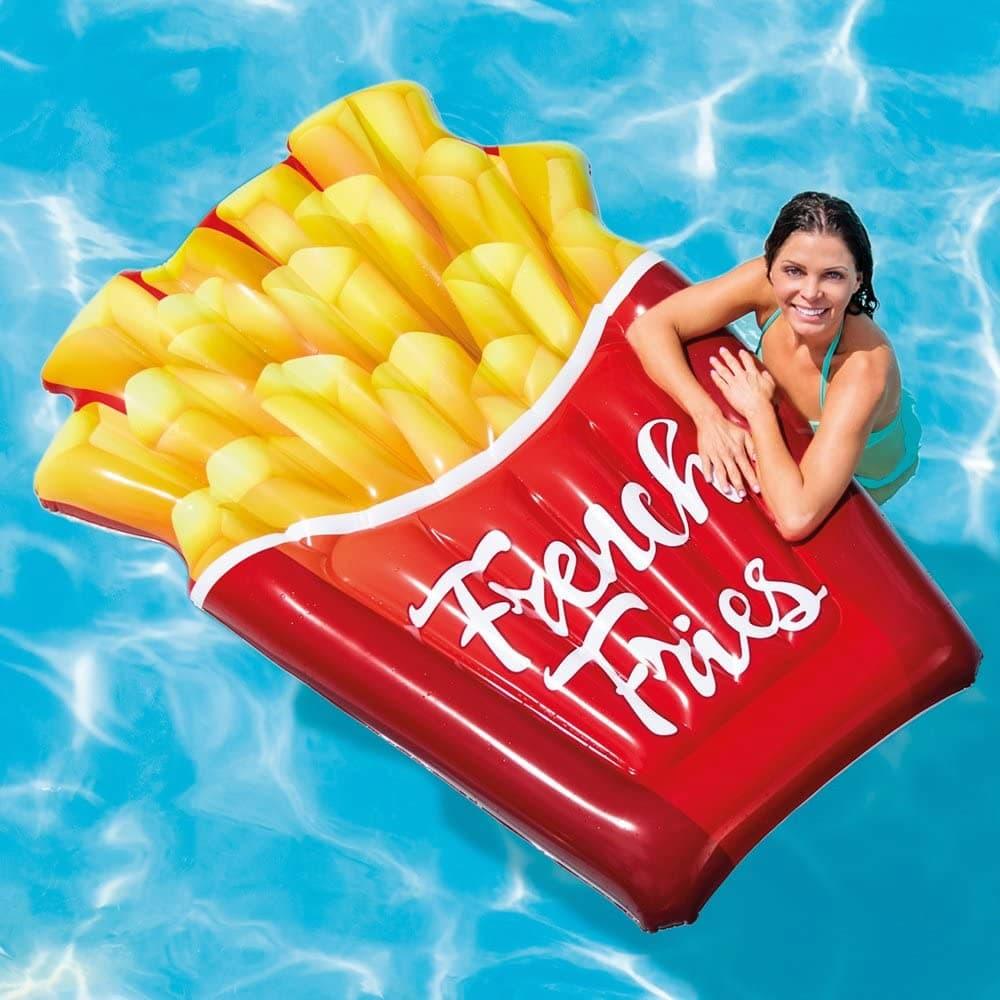 matelas gonflable cornet de frites