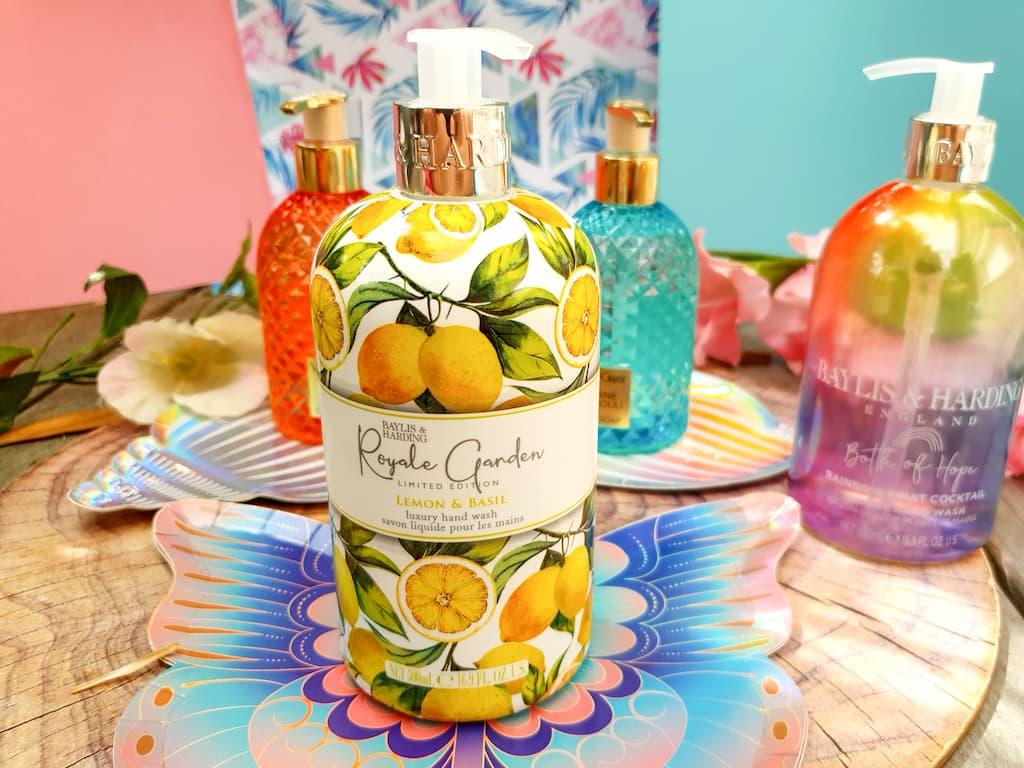 savon liquide pour les mains citron et basilic