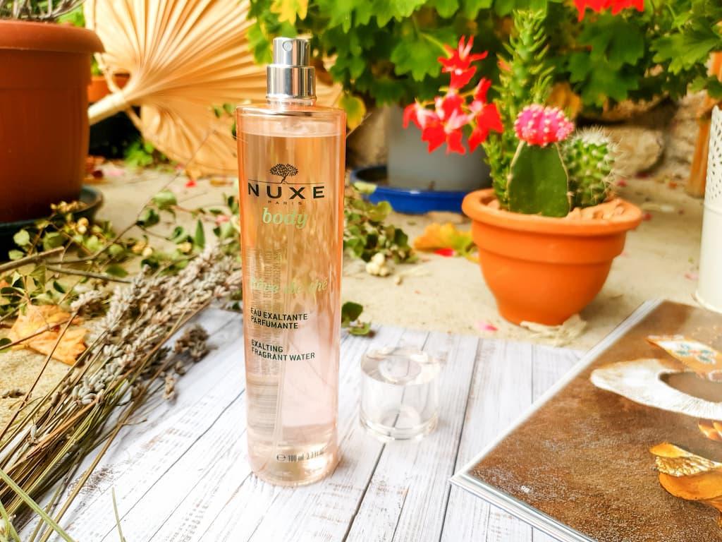 eau exaltante parfumante Rêve de Thé Nuxe Body