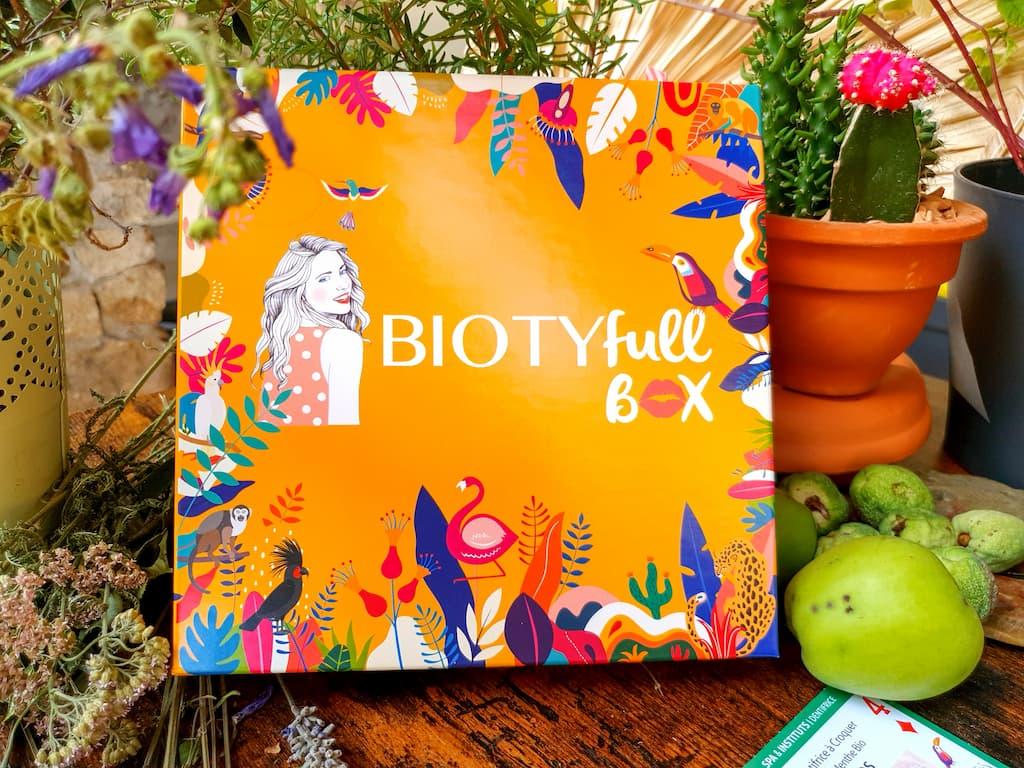 Biotyfull Box août 2021 Jungle Tropicale