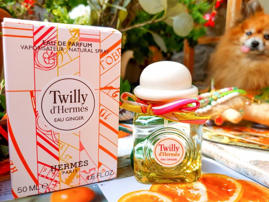 eau de parfum Twilly d'Hermès Eau Ginger