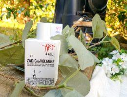 présentation, test et avis parfum Art 4 All Zadig & Voltaire This Is Her !
