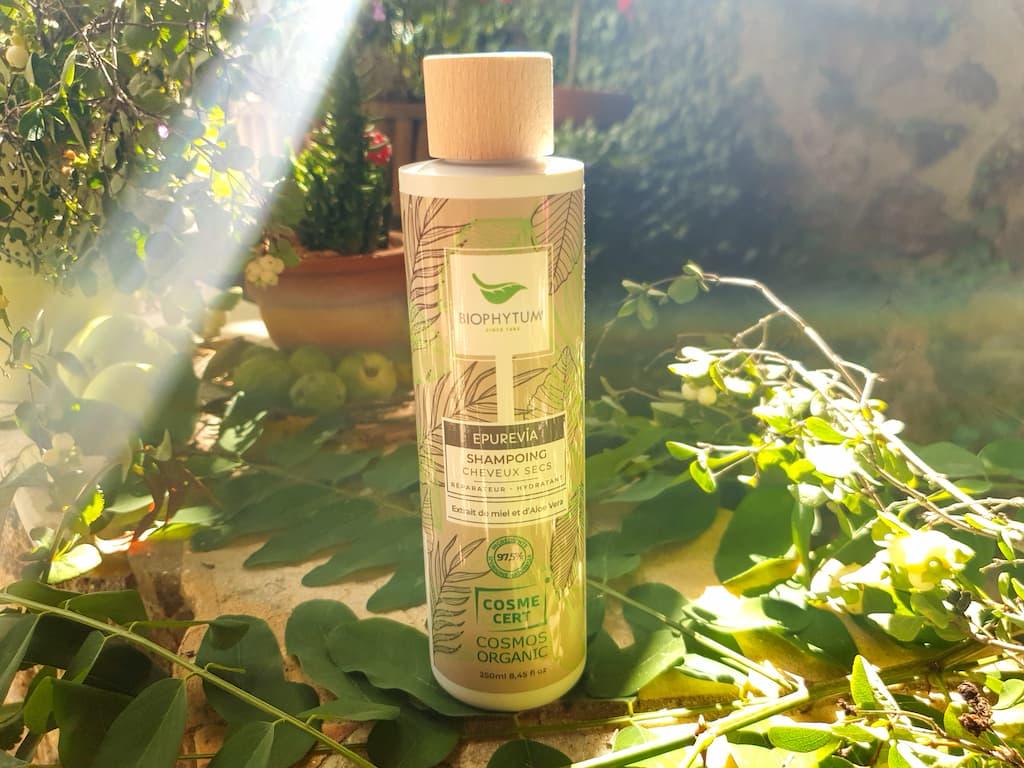 shampoing pour cheveux secs bio