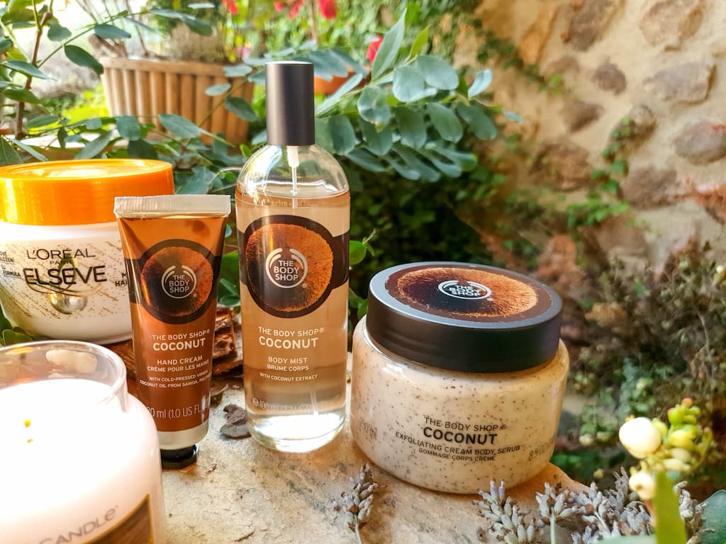 gamme coconut The Body Shop