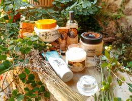 sélection de produits senteur noix de coco
