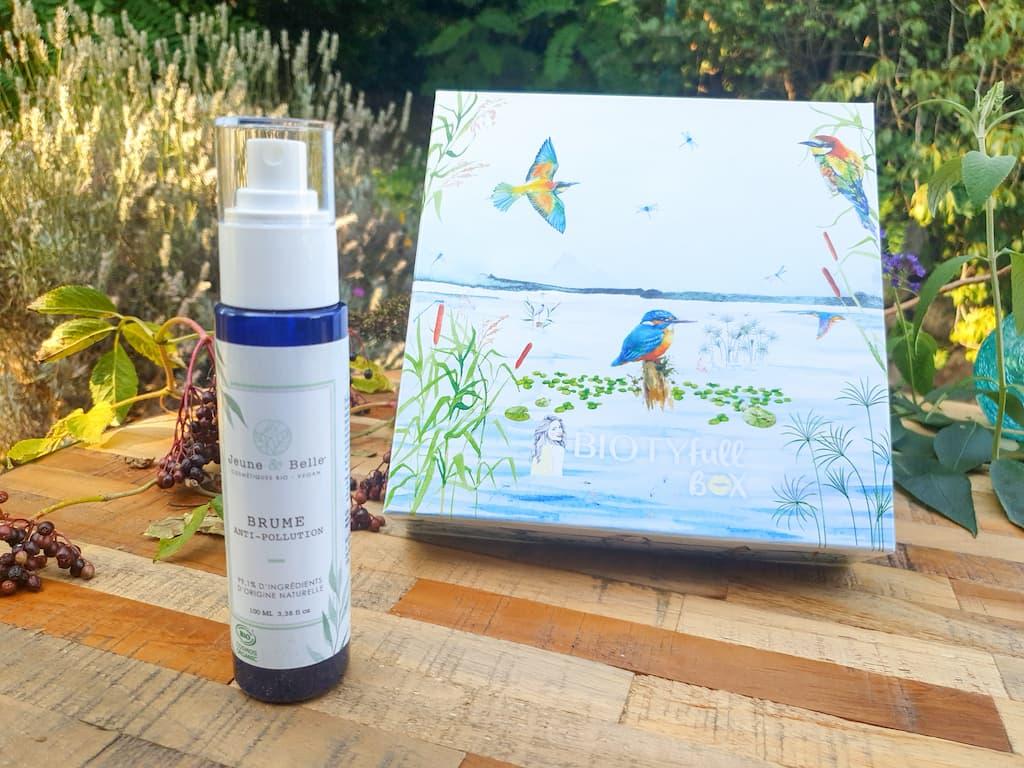 La box beauté bio Biotyfull Box Septembre 2021 anti-pollution